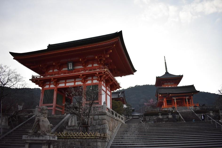 清水寺の朝
