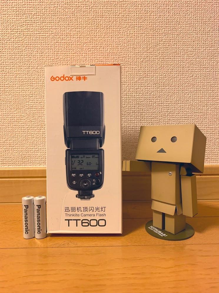 ストロボTT600