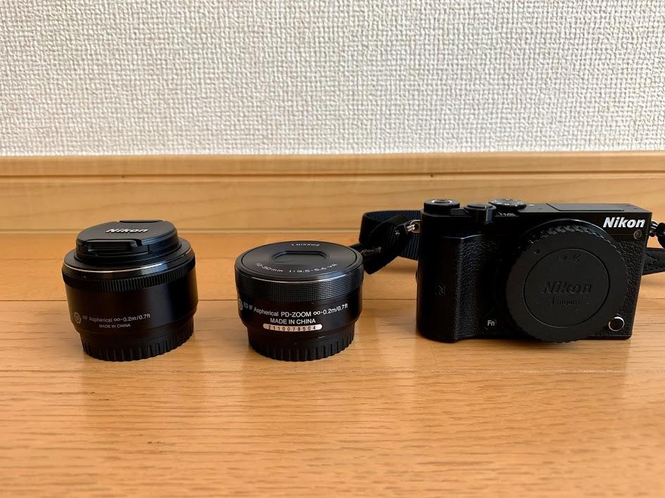 Nikon1の交換レンズ