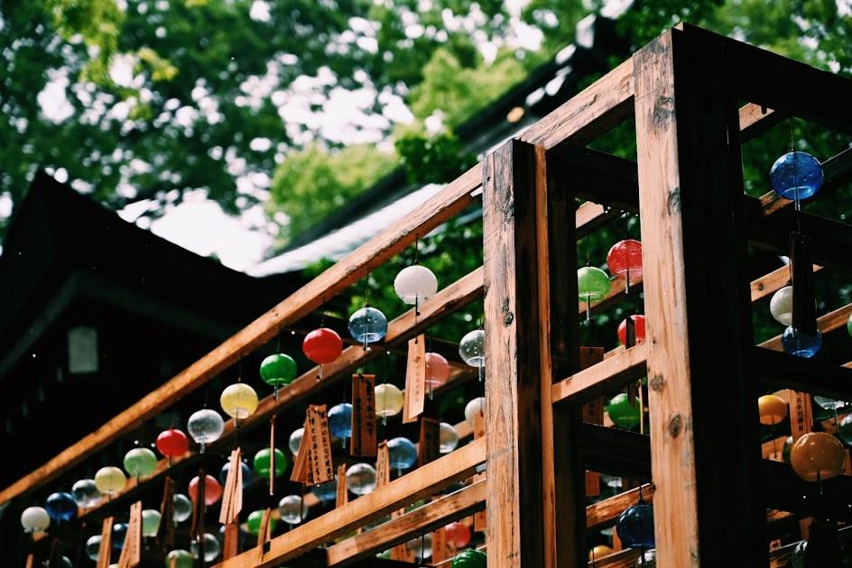 氷川神社の風鈴
