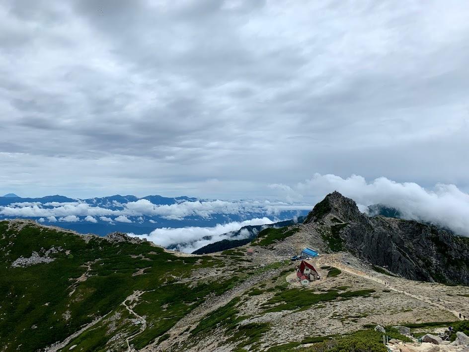 中岳からの景色