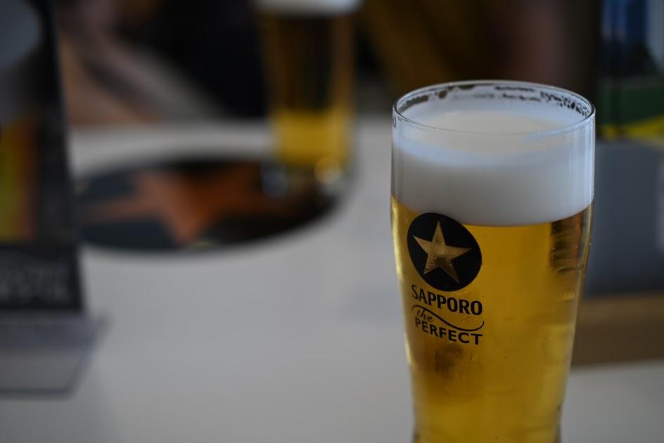 サッポロビール試飲!