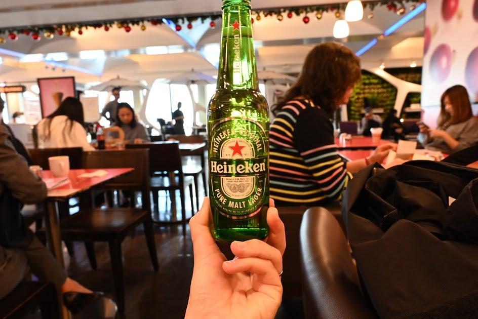 空港でビール