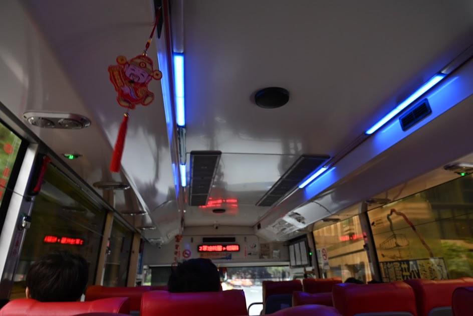 九份行のバス
