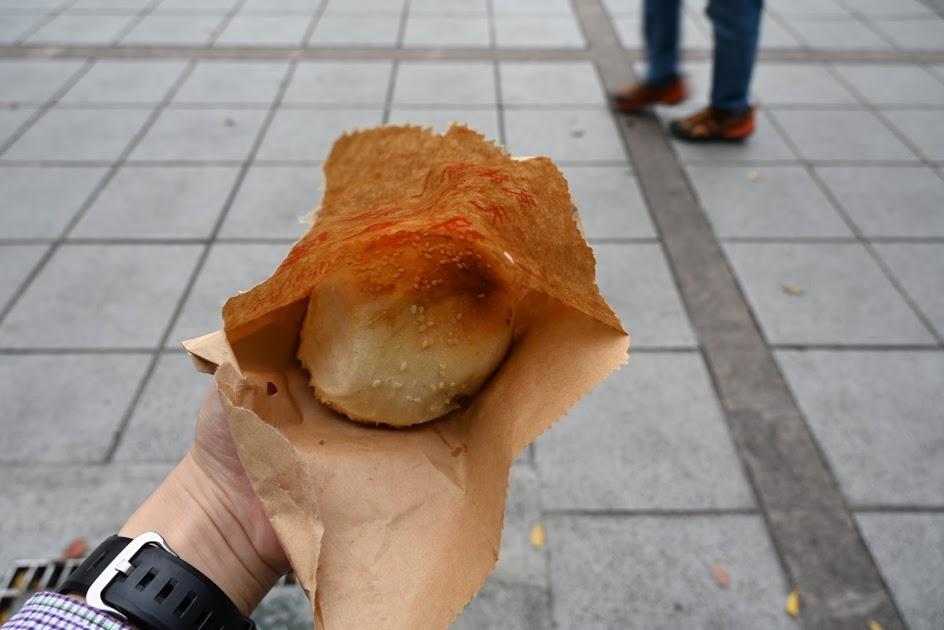 焼きたての胡椒餅