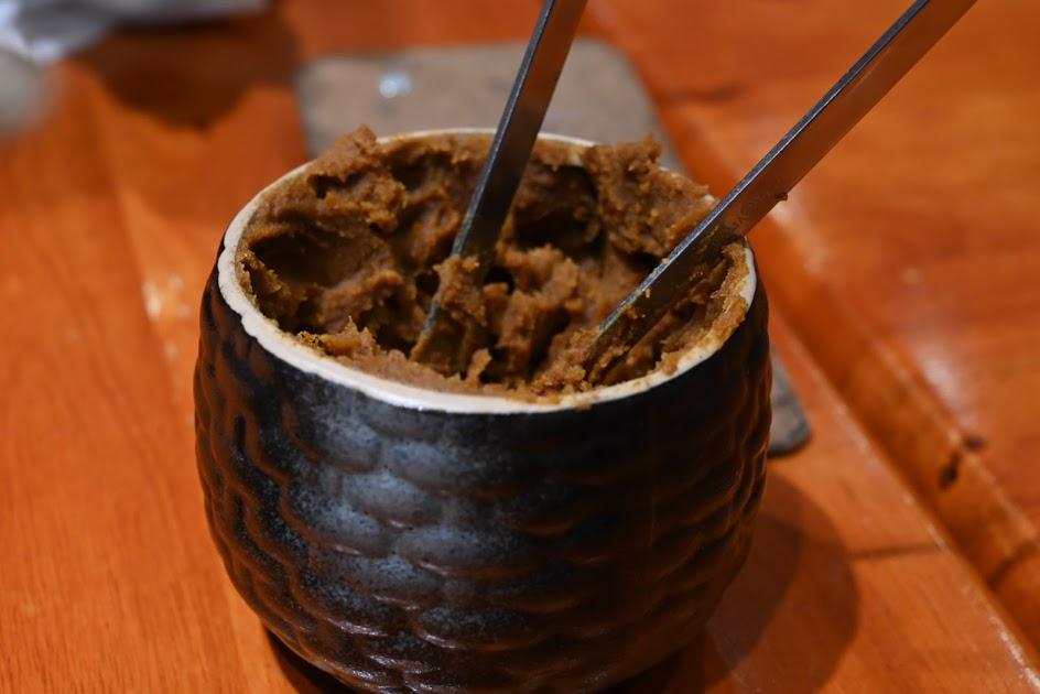 牛肉麺と固形ラー油