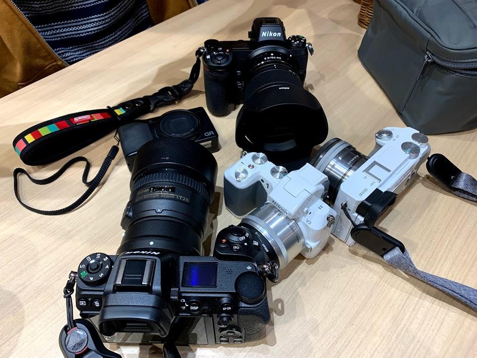 カメラ集合写真