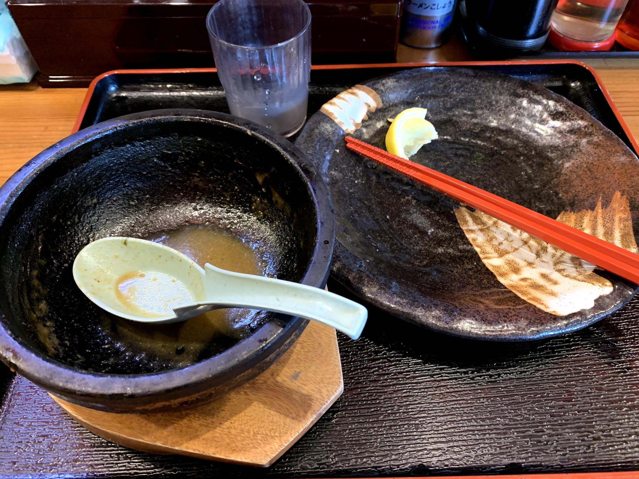 伊勢海老つけ麺☆完食