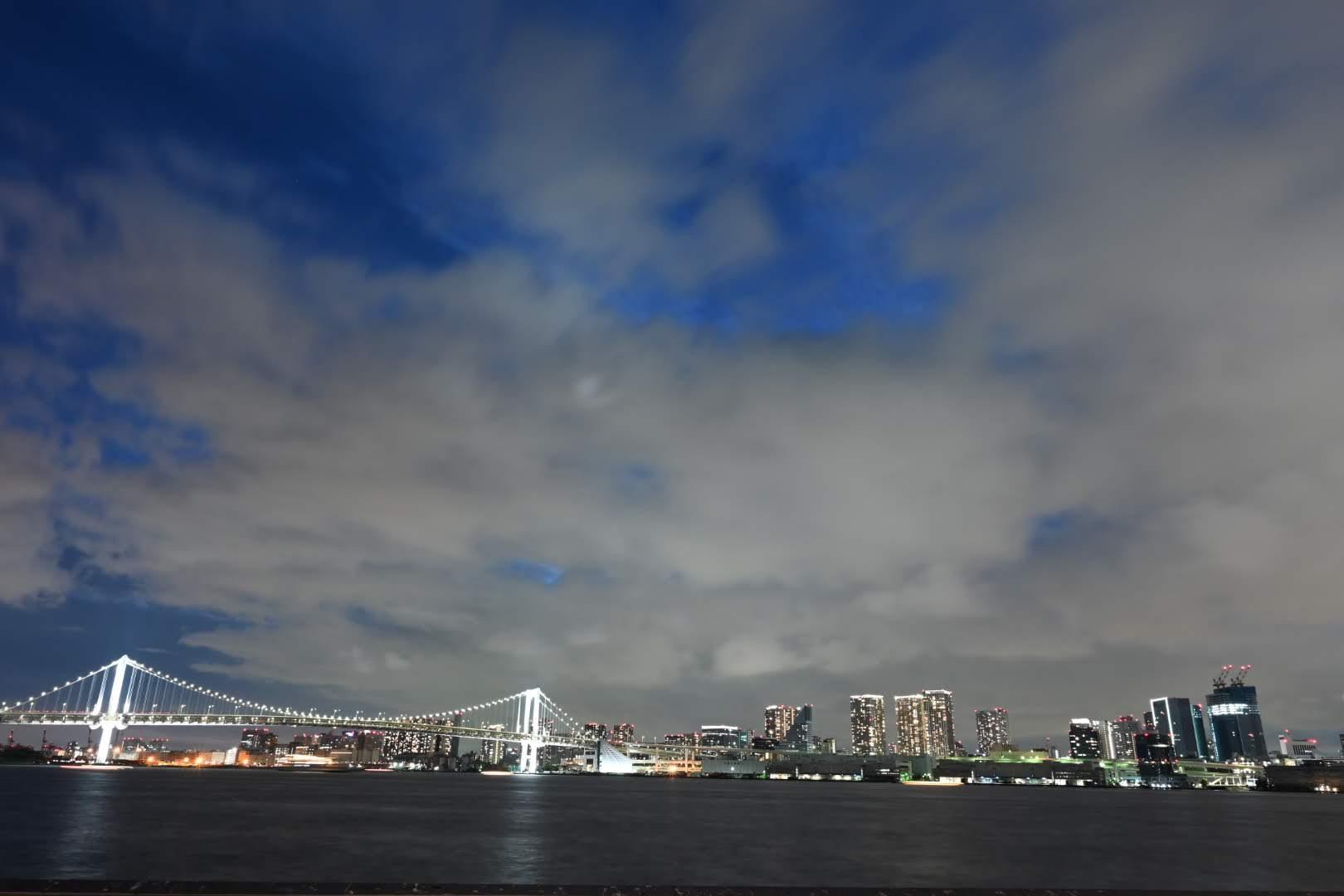 晴海埠頭から見える夜景